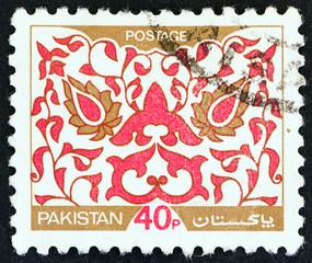 Leaf Pattern (Pakistan 1980)