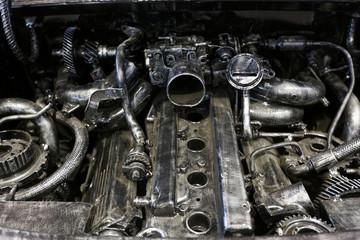 Alter defekter Motor