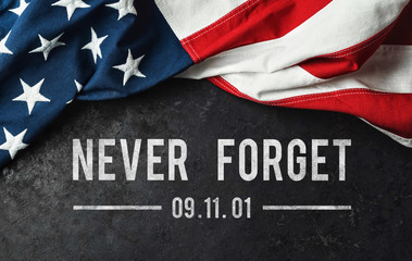 Patriot Day - Never Forget Fototapete