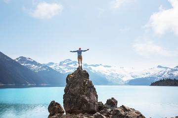 Spoed Foto op Canvas Canada Garibaldi lake