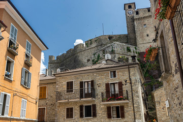 Bardi, historic city in province of Parma