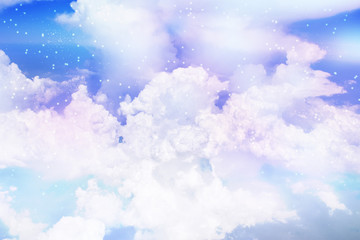 星空に浮かぶ雲