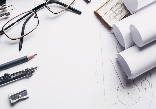 Work with the drawing. Drawing tools or office stationery