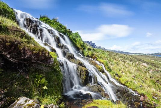 Brides Veil Falls, Highlands, Skye, Scotland