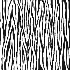 Zebra seamless pattern. Animal print