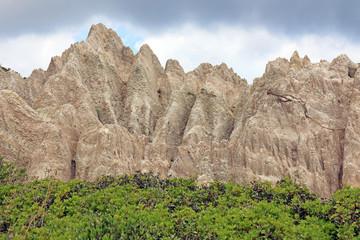 White Sandstone Mountains, Gerakas, Zakynthos, Griechenland
