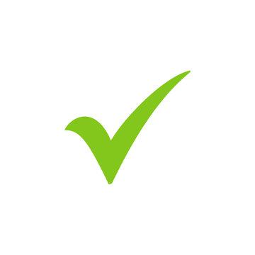 Shield with check mark icon, Tick mark symbol vector