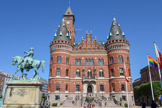 The town hall of Helsingborg on Sweden