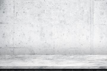 Fotorolgordijn Stenen Cement floor and wall background,interior,idea,dimension room,design display products.copy space.