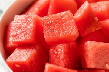 Raw Organic Pink Watermelon Slices