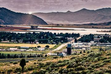 City of Soda Springs in Idaho