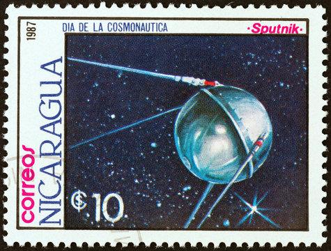 Sputnik satellite (Nicaragua 1987)