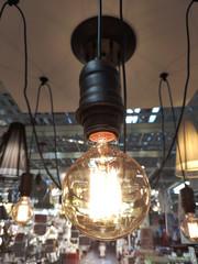 Edison vintage light bulb