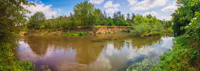 Renaturierung eines Flusses