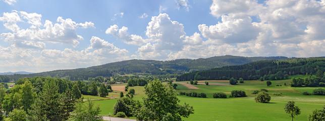 Summer landscape in the austrian region Waldviertel Fototapete