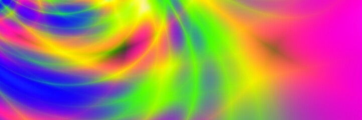 Rainbow color picture abstract nice pattern