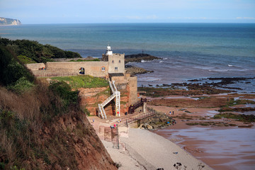 Jacobs Ladder in Sidmouth, Devon
