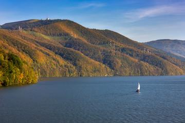 Obraz Beskid Mały - Carpathians Mountains - fototapety do salonu