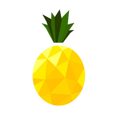 Pineapple low poly