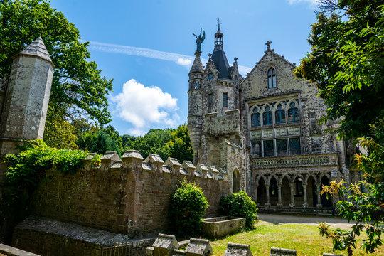 Concarneau, Finistère, Bretagne - Le château de Keriolet