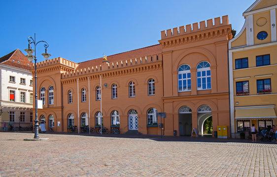 Schwerin Rathaus Innenstadt