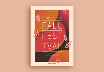 Fall Festival Flyer Layout