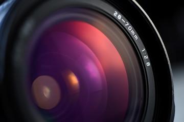 lente de  fotografía