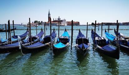 Fototapeta Venice gondolas