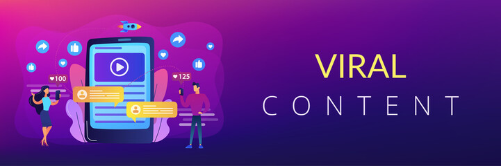 Le mème pour communication Digital marketing, online advertising, SMM. App notification, chatting, texting. Viral content, internet meme creation, mass shared content concept. Header or footer banner template with copy space.