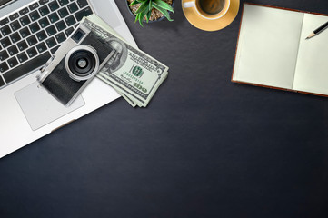 Make money with sell stock photo online concept.