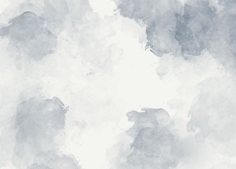 Grey watercolor soft abstract background