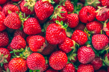 Photo of strawberries.  Photo from Finland.