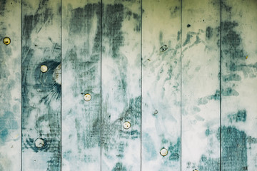 Arrière plan lames de bois et peinture usé, fond grunge Wall mural