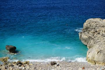 Wild rocky beach in Palma de Mallirca