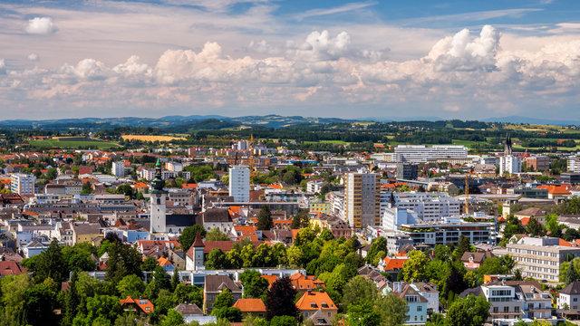 City of Wels in Austria