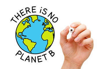 There Is No Planet B Environmental Concept
