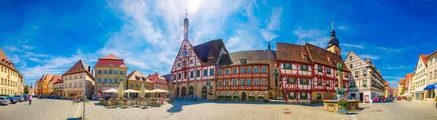 Rathaus von Forchheim in Franken, Bayern