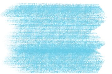 blue hand drawn rough brush stroke cement wall tile background pattern with white borders   Wall mural