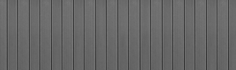 Fototapeta Top view of WPC in gray color. WPC: Wood-Plastic Composites are wood fiber and thermoplastic such as PE, PP, PVC, or PLA. A WPC decking are stylish and enrich the outdoor living obraz