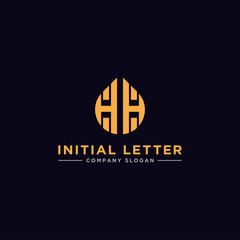 Inspiring company logo designs from the initial letters of the HH logo icon. -Vectors