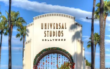 Universal Studios of Hollywood Entrance