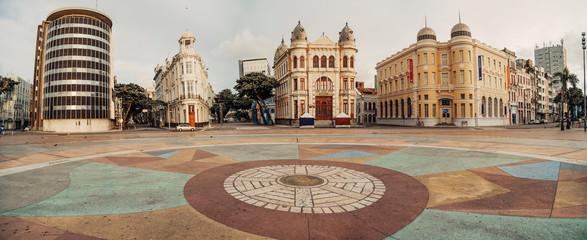 Imagens de Recife e Olinda - Pernambuco - Recife Antigo, Marco Zero, Ruas, Pontes, Rio Capibaribe