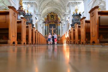 Innenansicht Schlosskirche Friedrichshafen am Bodensee