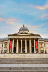 The National Gallery in London, UK