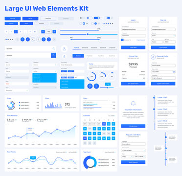 Big, huge, enhanced ui kit