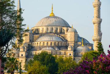 The Blue Mosque - Sultanahmet Camii - Istanbul, Turkey