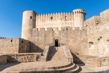 Norman castle from XI century in Santa Severina, Italy