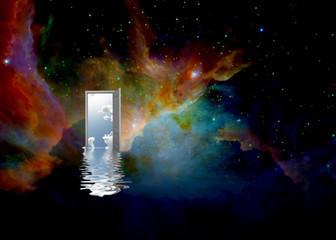 Synergies of space. Open door to another world