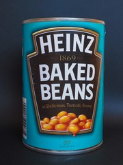 PITTSBURGH, USA - JANUARY 6, 2015: Heinz baked beans