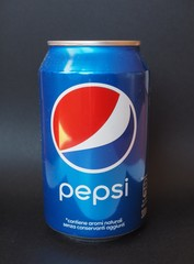MILAN, ITALY - JANUARY 6, 2015: Pepsi cola